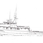 Original architect drawing of Cape Polaris.