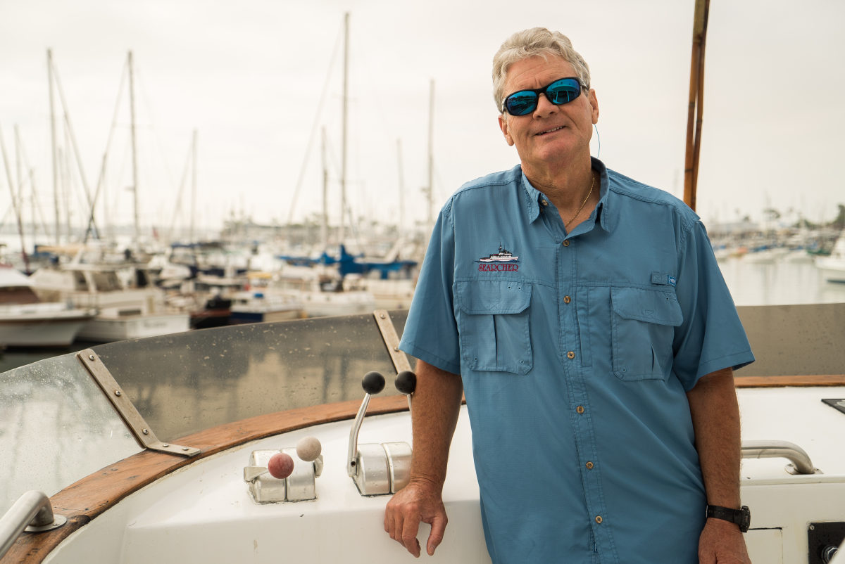 Captain Art Taylor, owner/operator